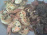 crevette et légumes au curry
