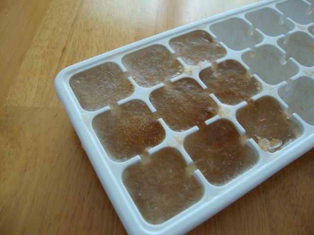 cube glacé